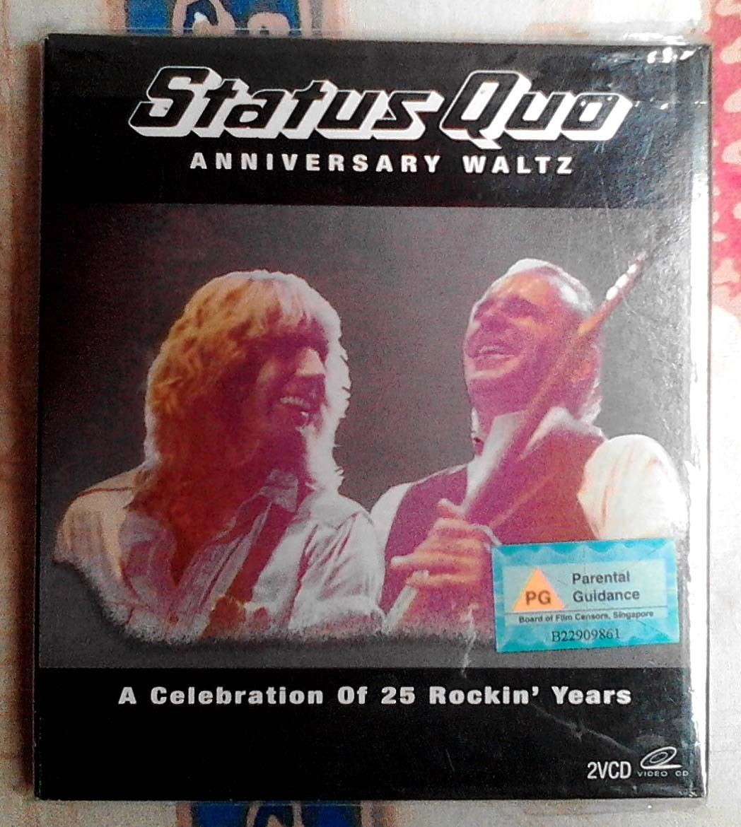 Status Quo Anniversary Waltz A Celebration Of 25 Rockin Years Video Humble Pie The Life And Times Steve Marriott Dvd Anniversaries