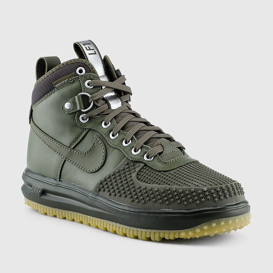 ... Nike - Mens Lunar Force 1 Duckboot (Medium Olive Gum Light Brown)