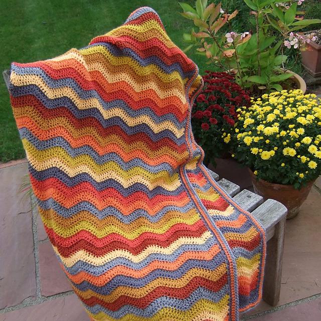 Neat Ripple In 2020 Pattern Crochet Afghan Attic 24