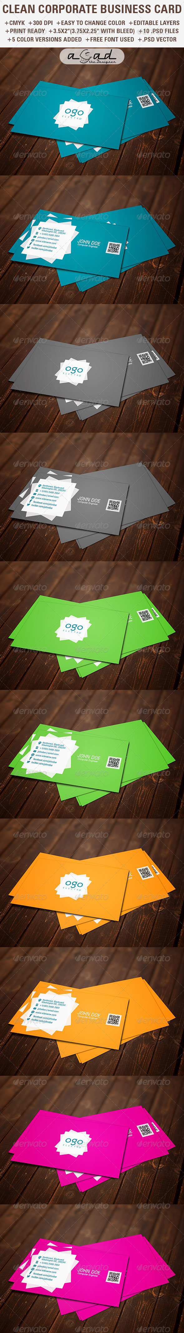 Corporate business card template sn 7 corporate business corporate business card template sn 7 reheart Image collections