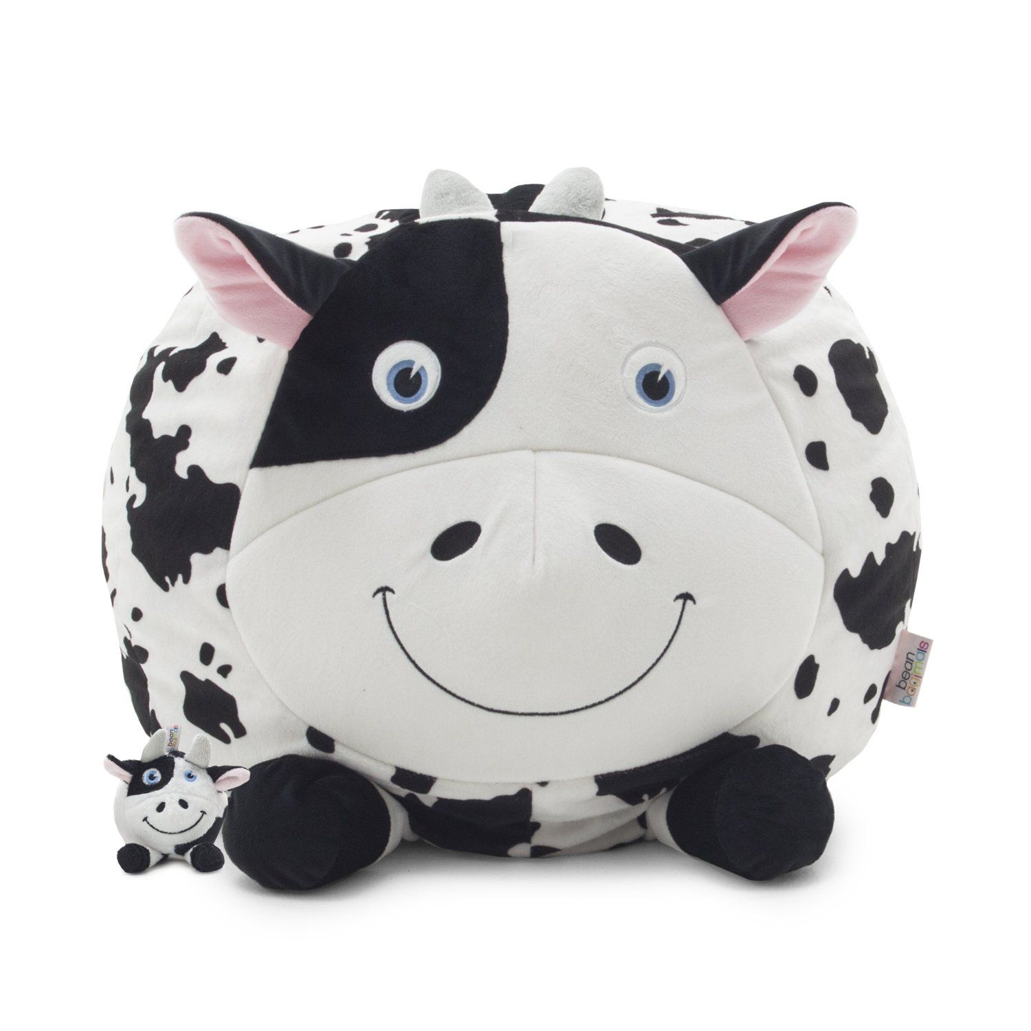 14 Comfortable Animal Kids Bean Bag Chairs Collection Cute Black And White Cow Shaped Kids Bean Bag Chai Small Bean Bag Chairs Small Bean Bags Kids Bean Bags