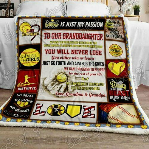 To My Granddaughter I/'m So Proud Of You Sofa Fleece Blanket 50-80