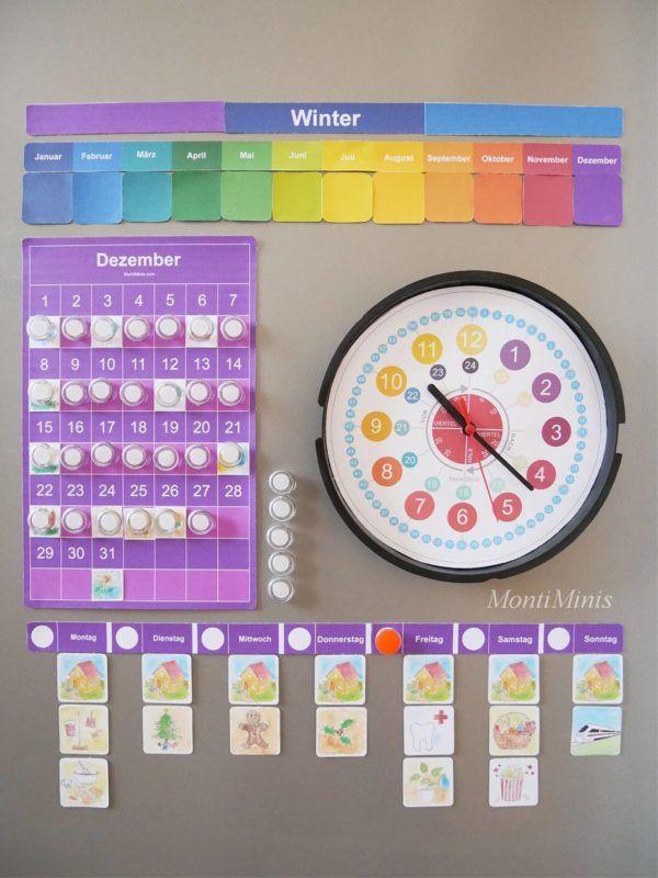 Der MontiMinis Kinder Kalender