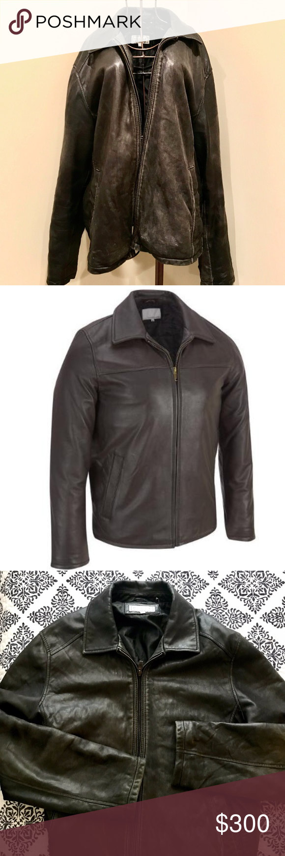 Wilsons Leather Classic Smooth Lamb Jacket Lamb jacket
