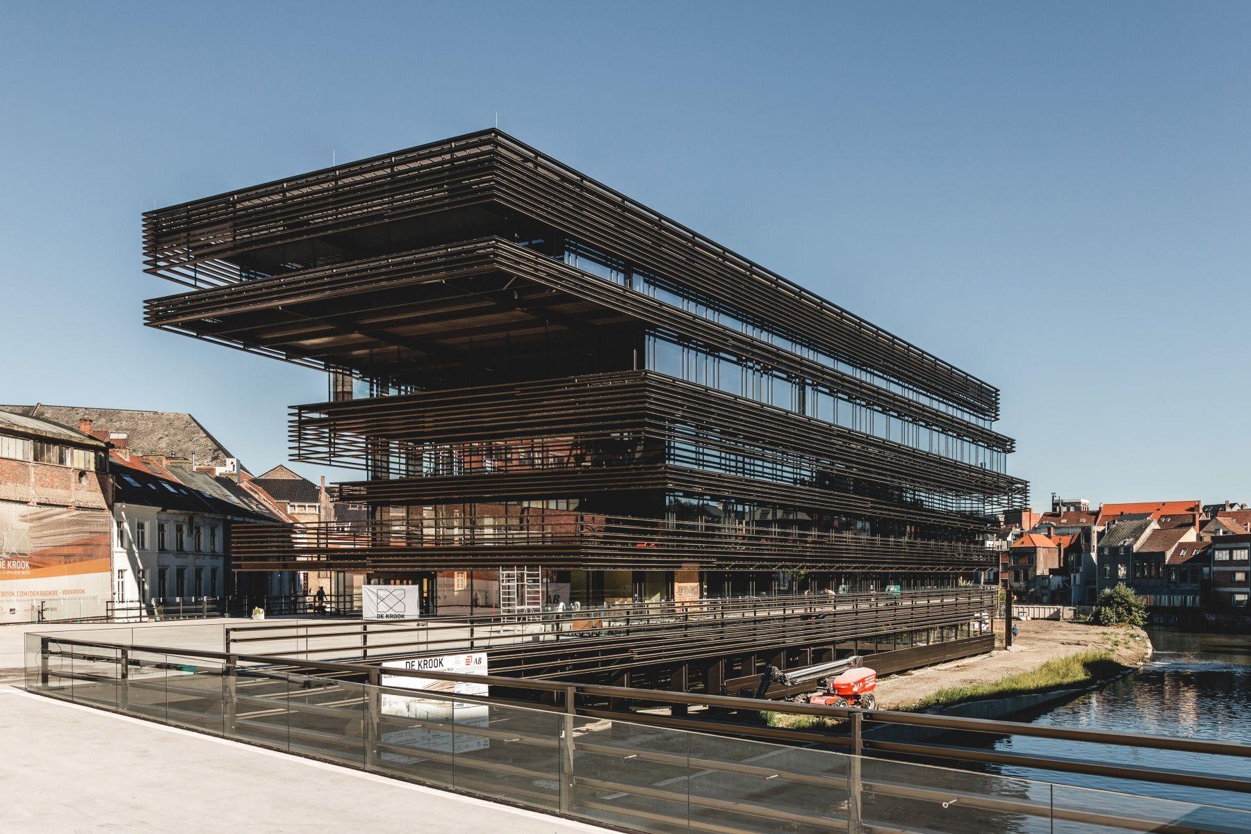 De Krook The Modern Library Moderne Bibliotheek Architectuur Gent
