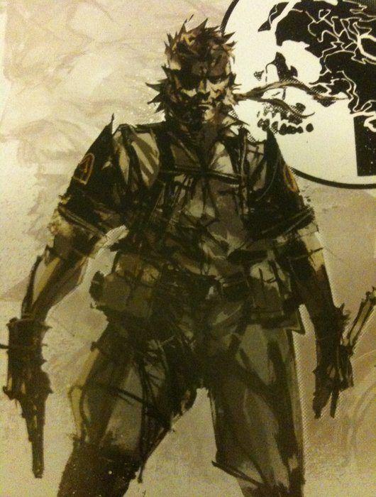 Metal Gear Solid Peace Walker Artwork Big Boss Metal Gear Metal Gear Solid Metal Gear Series