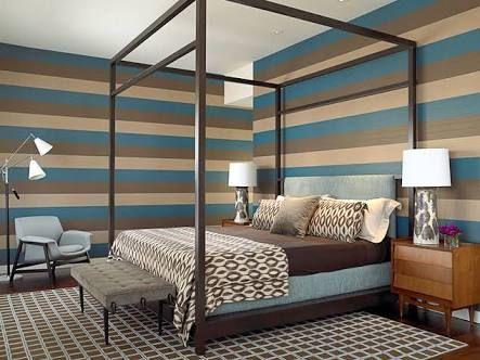 paredes pintadas con rayas horizontales - Buscar con Google
