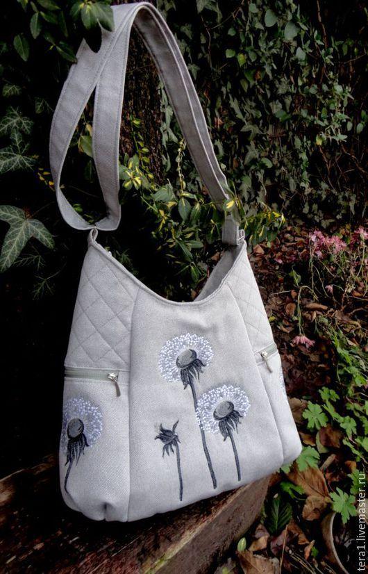 8892923ea0ad Женские сумки ручной работы. Ярмарка Мастеров - ручная работа. Купить Сумка  текстильная Одуван. Handmade. Сумка, сумка на лето