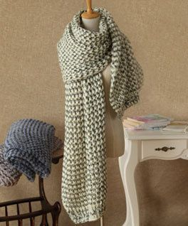 Knitted Scarf by PFashionShop on Etsy