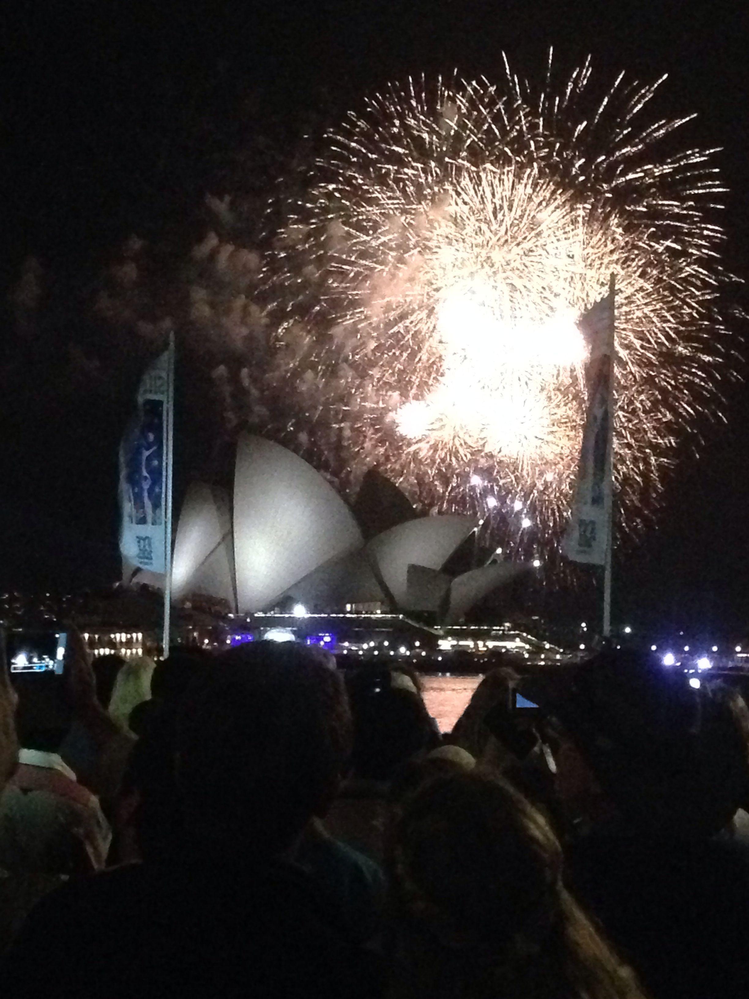 NYE in Sydney.