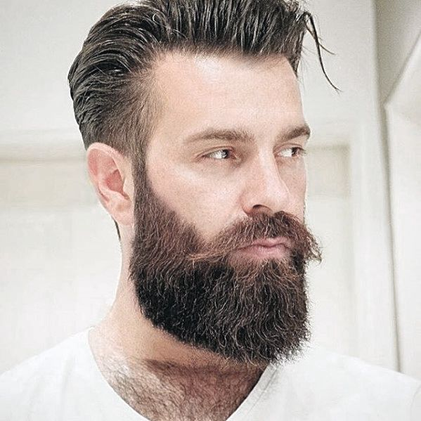 Awesome 50 Nice Beard Styles For Men Masculine Facial Hair Ideas Beard Natural Hairstyles Runnerswayorg