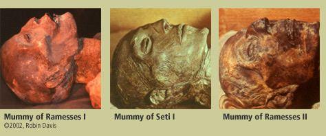 three Ramesse's of Eygpt