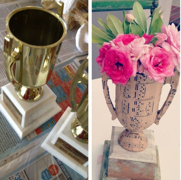 Beautiful Cool Ways To Upcycle Trophies Nice Design