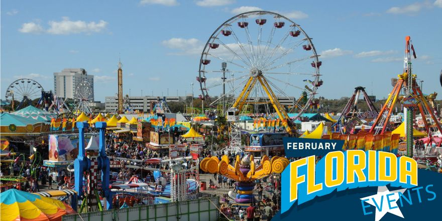 Florida Events In February Florida Events Best Rv Parks Florida State Fair