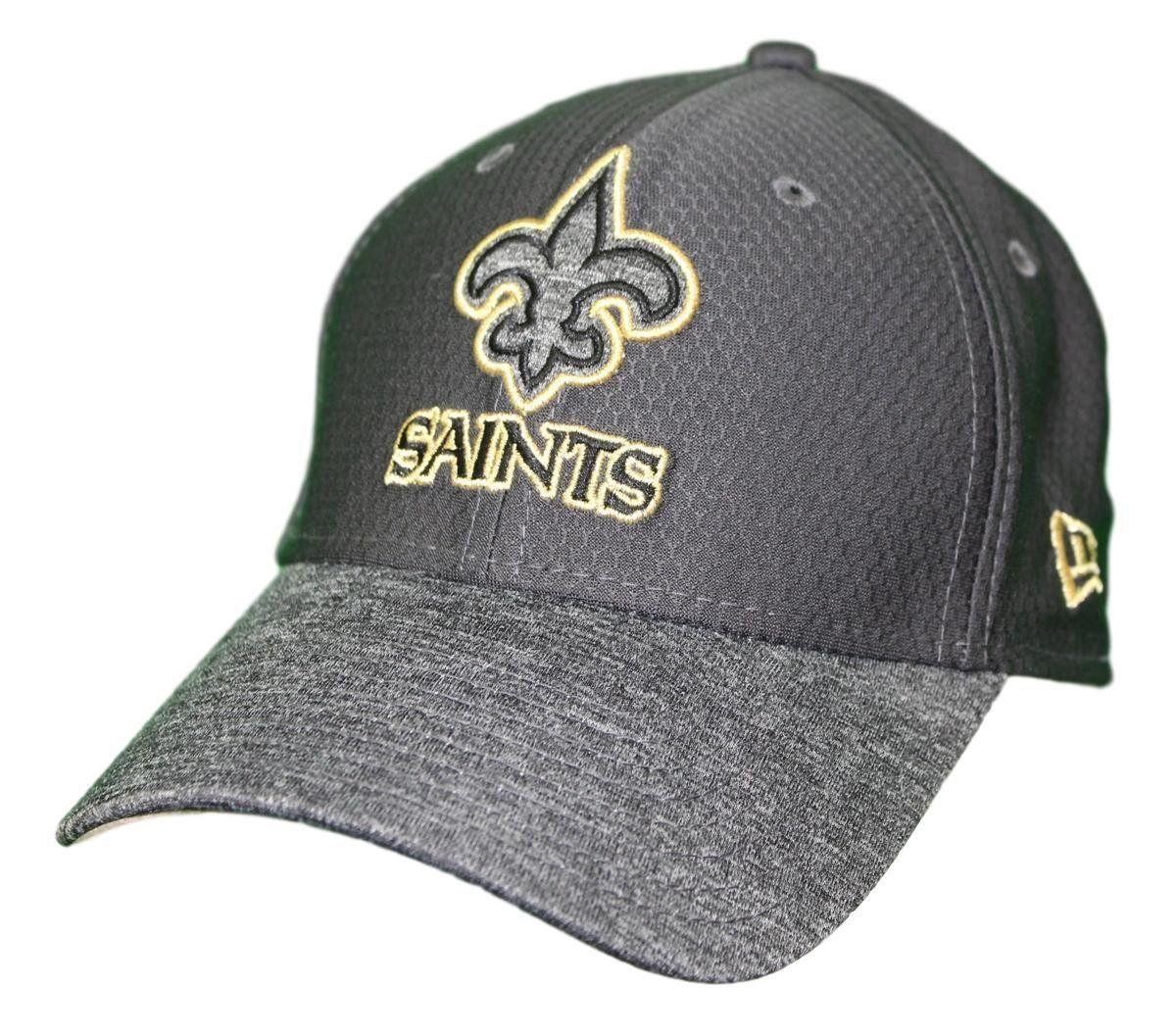 49d0754c5d0e62 New Era New Orleans Saints NFL 39THIRTY Popped Shadow Flex Fit Hat -  Graphite, $27.95