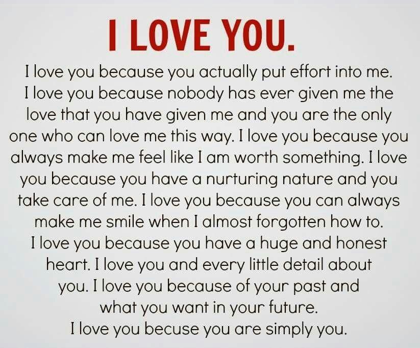 I Love How He Loves Me, And I Him. Together Til Death Do We