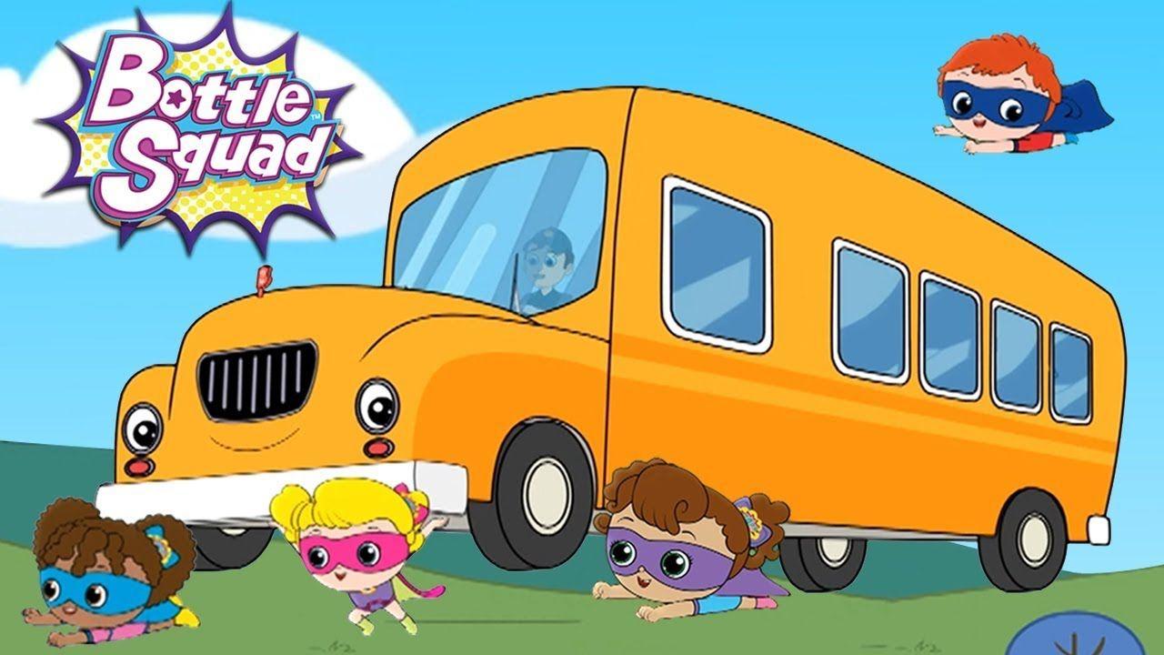 wheels on the bus nursery rhymes & kids song baby songs ...