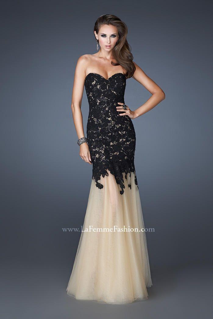 La Femme Evening 18951 La Femme Evening PZAZ DRESSES,THE BEST ...