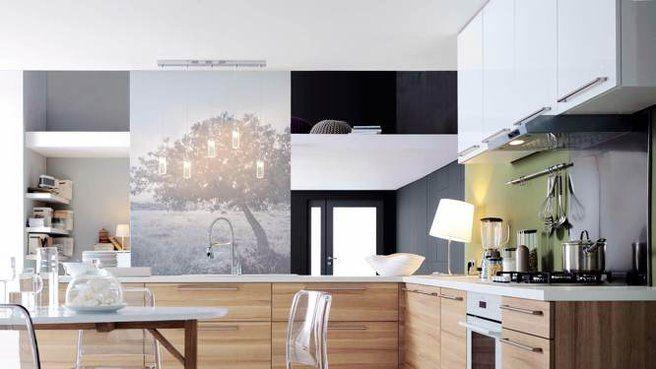 Ambiance naturelle dans la cuisine