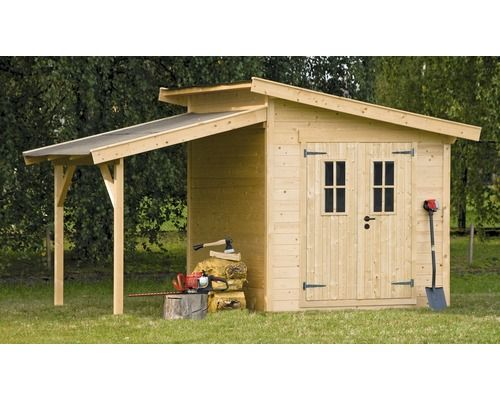 konsta blockbohlenhaus alpen 200 x 200 cm natur bei hornbach kaufen gardentime. Black Bedroom Furniture Sets. Home Design Ideas