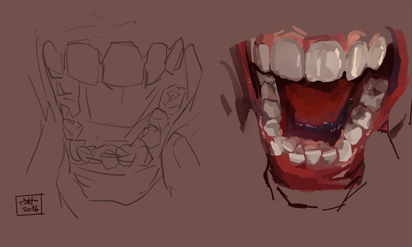28++ Teeth sketches ideas