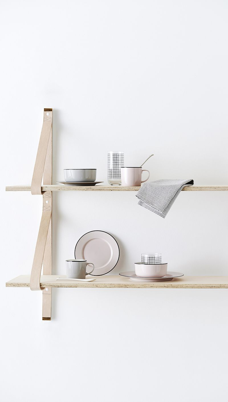 Love these leather strap shelves tdc new noted country road