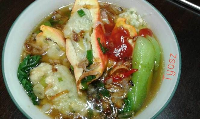 Resep Bakso Tahu Ayam Simple Oleh Angelic Resep Makanan Makanan Dan Minuman Masakan