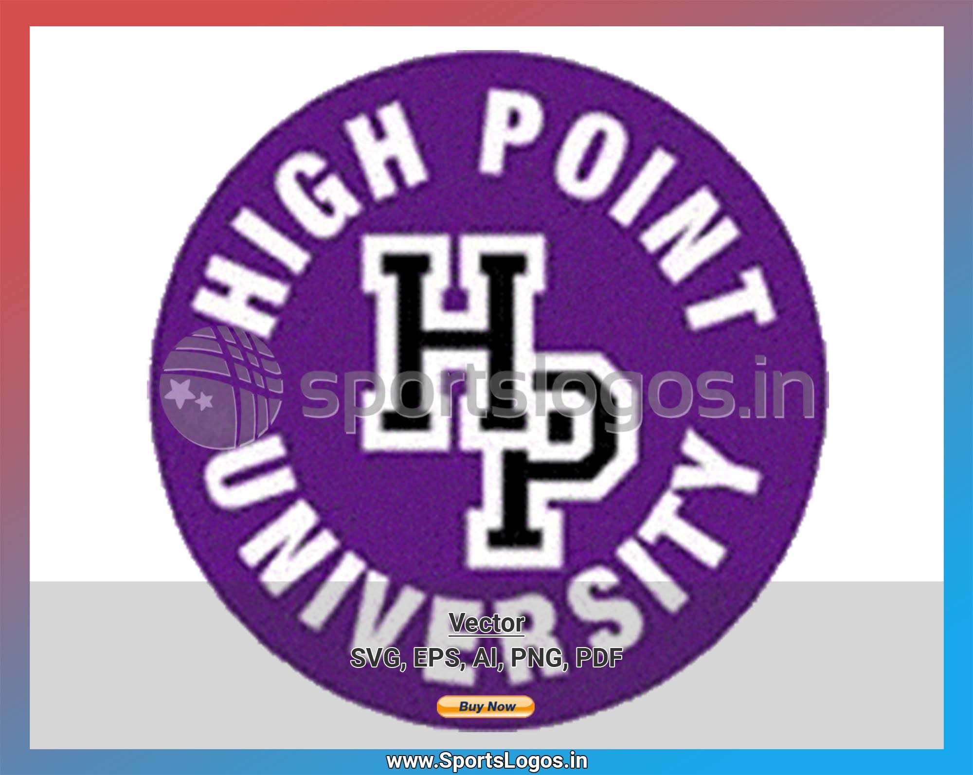 High Point Panthers College Sports Vector Svg Logo In 5 Formats Spln001839 Sports Logos Embroidery Vector For Nfl Nba Nhl Mlb Milb And More Embroidery Logo Vector Svg College Sports