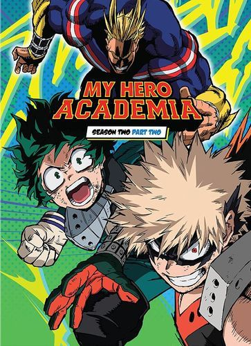 My Hero Academia Season Two Part Two Blu Ray Hero Academia