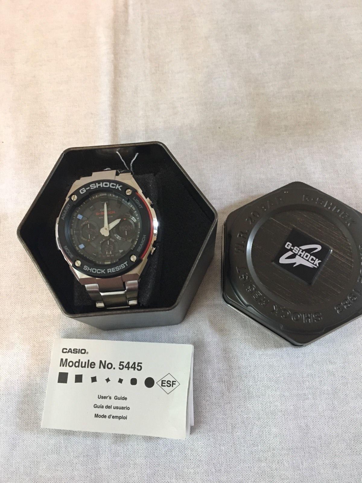 2e0f6e455c0f NWT Casio G-Shock G-Steel Solar Power Ana-Digi Watch GSTS100D-1A4 ...
