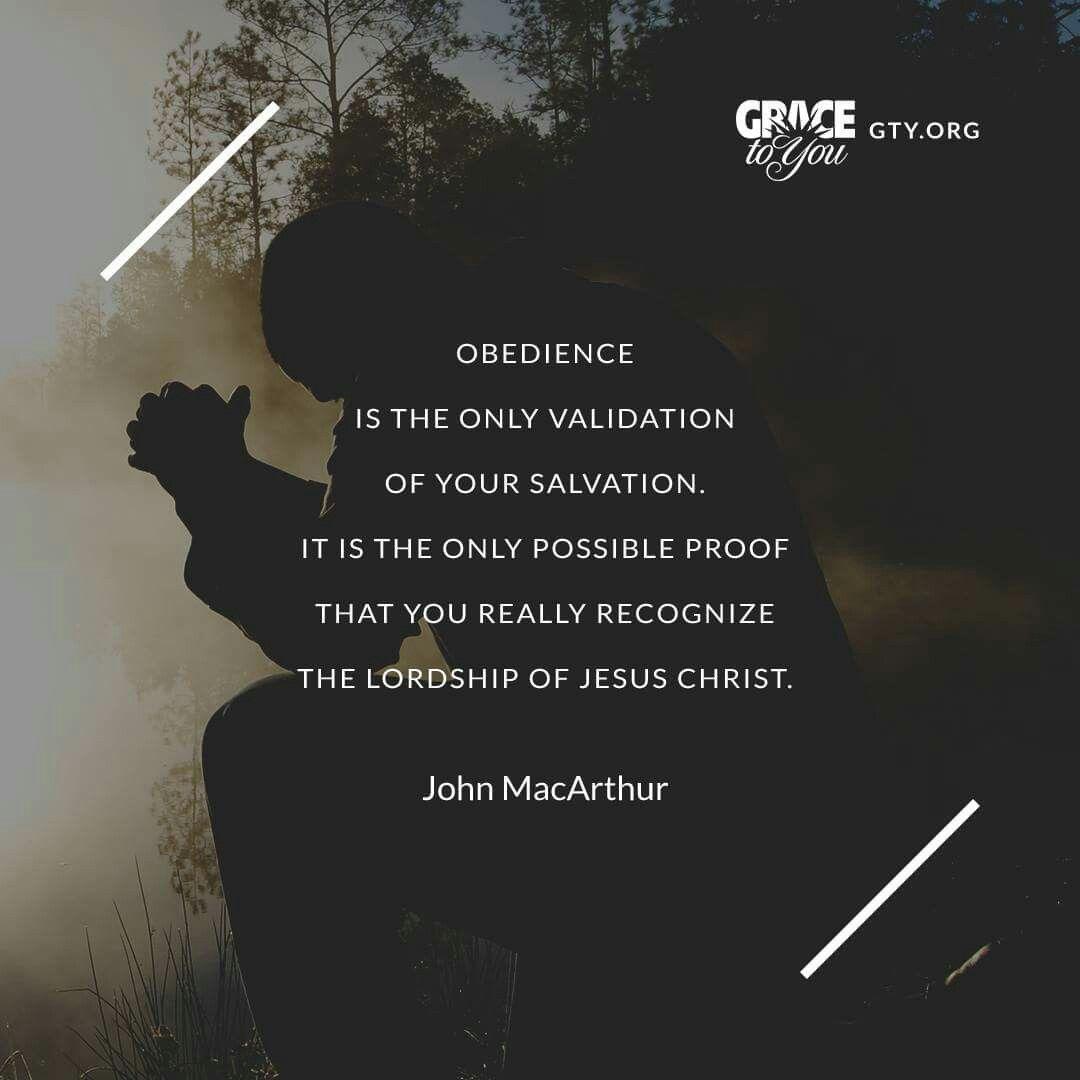 John Macarthur Quotes Christian Quotes  John Macarthur Quotes  Obedience  Assurance
