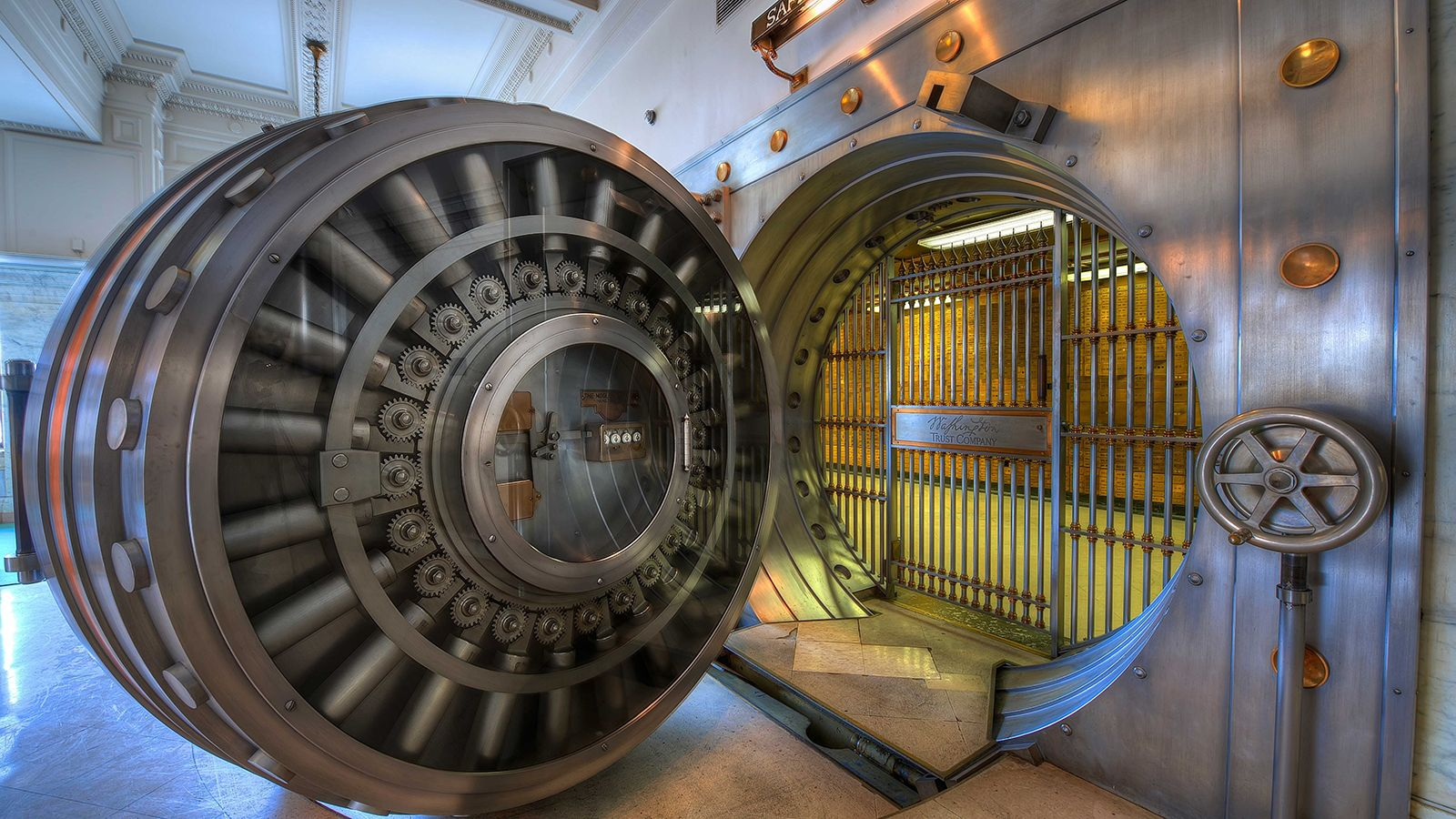 31 Fascinating Photos From Our Fascinating World Vault Doors