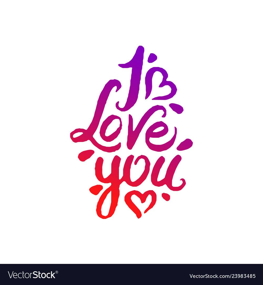 Download Concept of i love you Royalty Free Vector Image | I love ...