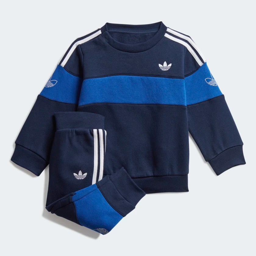 Photo of adidas Bandrix Crew Set – Blue | adidas US