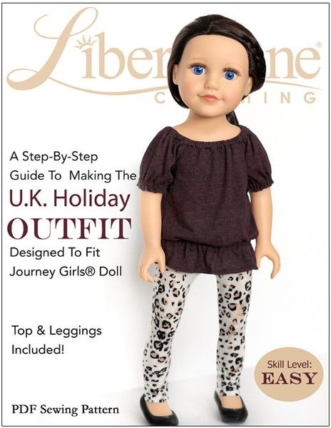 U.K. Holiday Outfit for Journey Girls Dolls | Pinterest