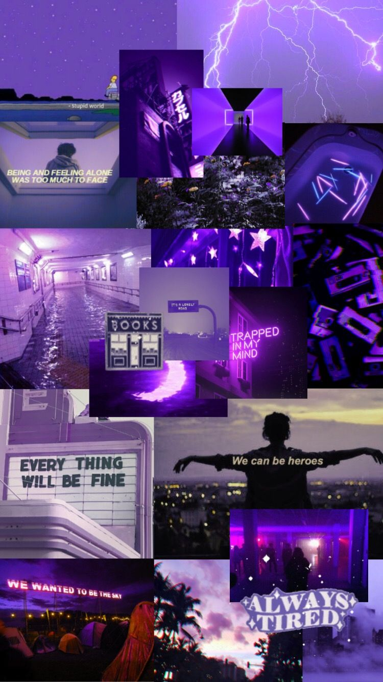 Purple Purpleaesthetic Aesthetic Lockscreen Iphone Wallpaper Tumblr Aesthetic Aesthetic Pastel Wallpaper Aesthetic Desktop Wallpaper