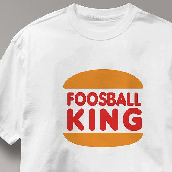 Foosball T Shirt King Foosball King Tee Shirt Mens By