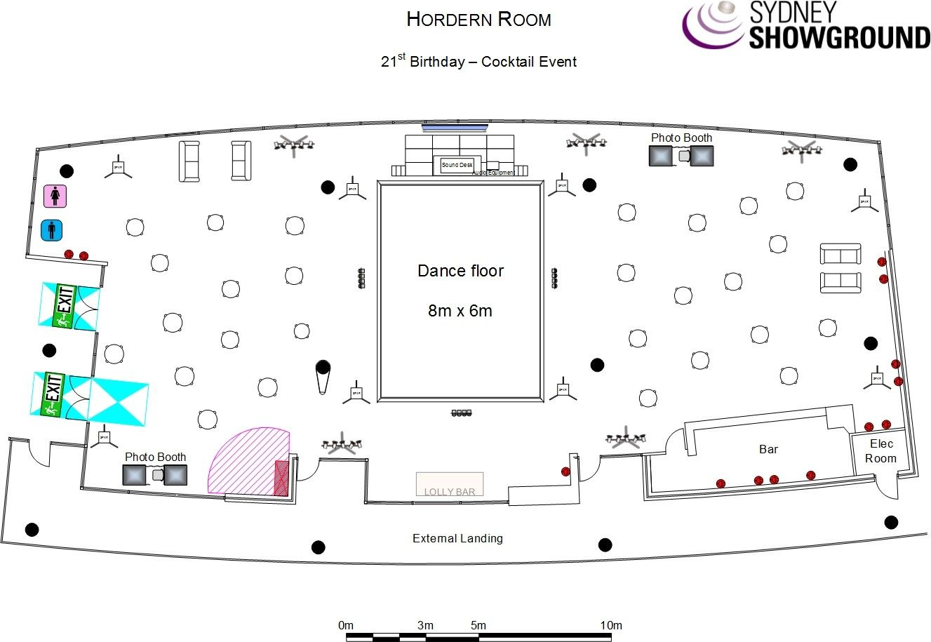 Hordorn Room Coctail Event Event Layout Birthday Cocktails