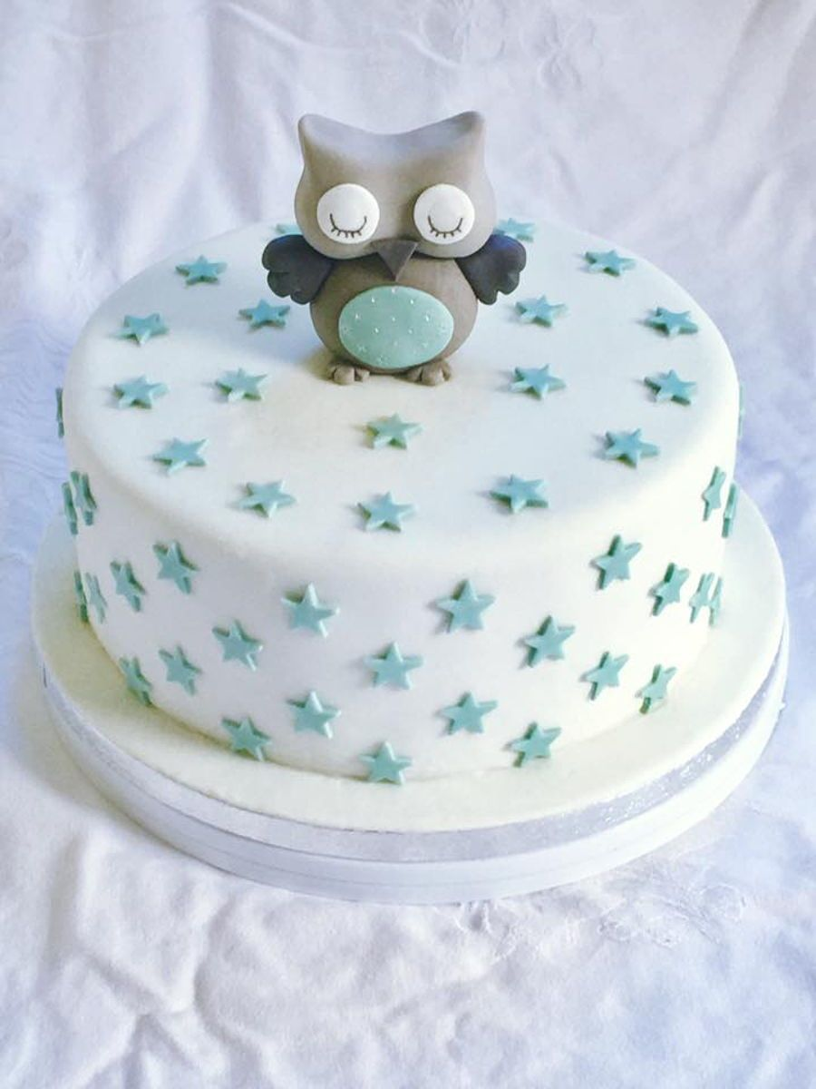 Owl Baby Shower Cake Baby Shower Cakes For Boys Baby Shower