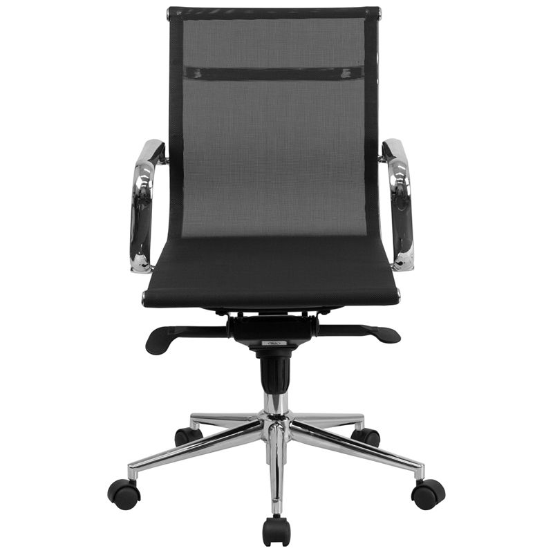 This Contemporary Chair Features A One Piece Molded Design With Chrome Features Mesh Office Chairs Can Keep You More Productive Office Chair Desk Chair Chair