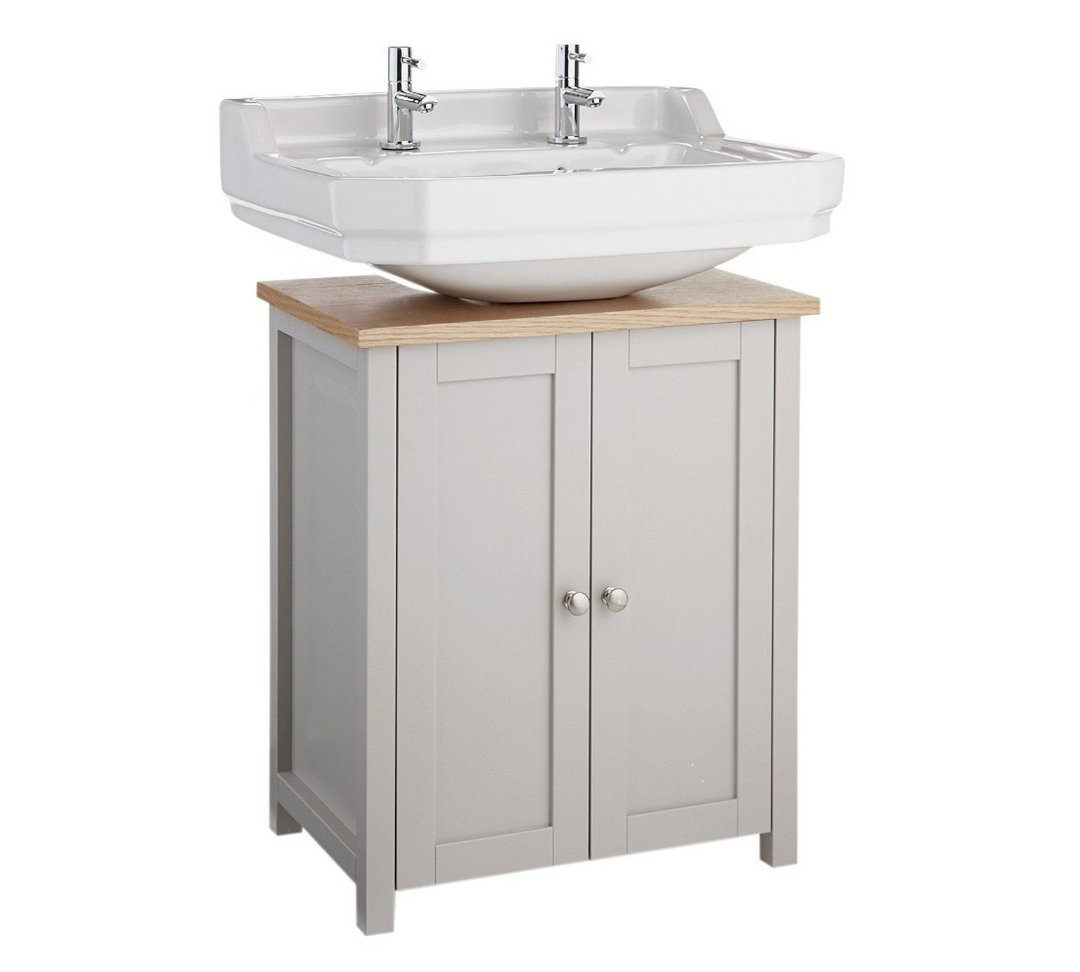 Buy Heart Of House Livingston Undersink Storage Grey Pine At Argos Co Uk Your Online Shop For Bathroom Shelf Decor Bathroom Sink Storage Bathroom Shelves