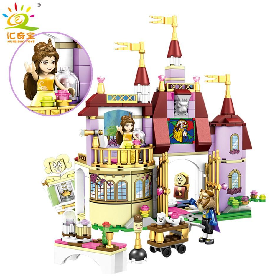 Beauty and The Beast Princess Belle/'s Enchanted Castle Building Blocks non lego