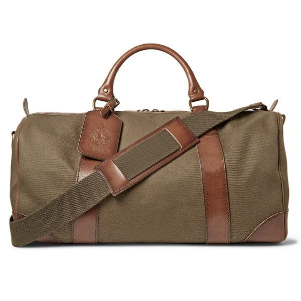 74948af12b Polo Ralph Lauren Safari Green Duffle Bag