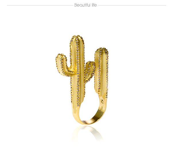 Cactus ring.