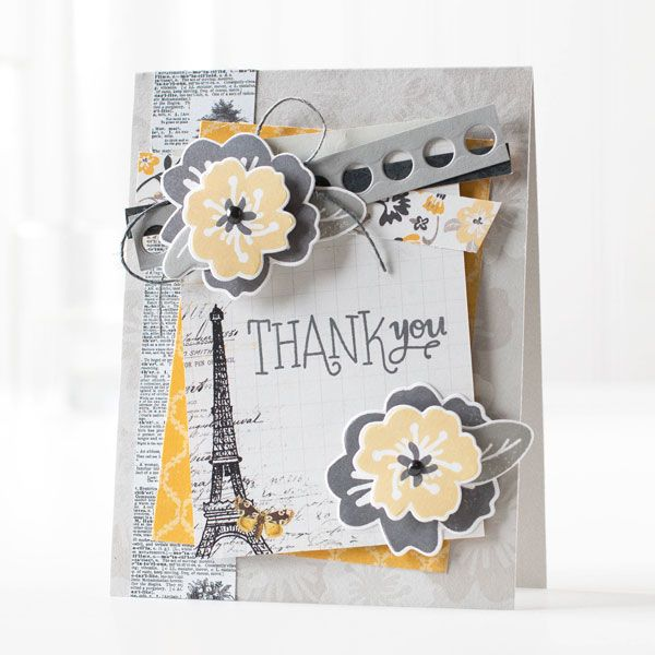 Such a Gorgeous card by Shari Carroll using the March 2015 Card Kit by Simon Says Stamp