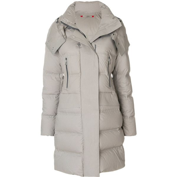 pretty nice c42f8 aff35 Peuterey long puffer coat (1 955 515 LBP) ❤ liked on ...