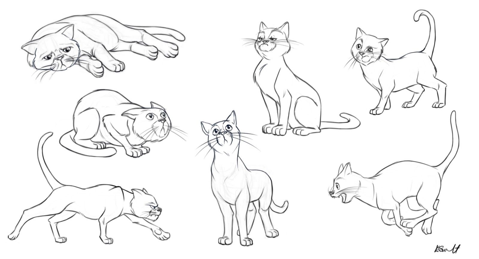 Image Result For Cat Poses Drawing Cat Paw Art Cat Sketch Cat