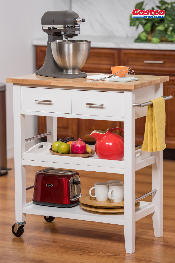 Trinity 3 Tier Kitchen Cart With Drawers Perfect Kitchen