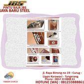 081-233-8888-61 (JBS), Bogor Steel Panel Doors, Door Manufac …