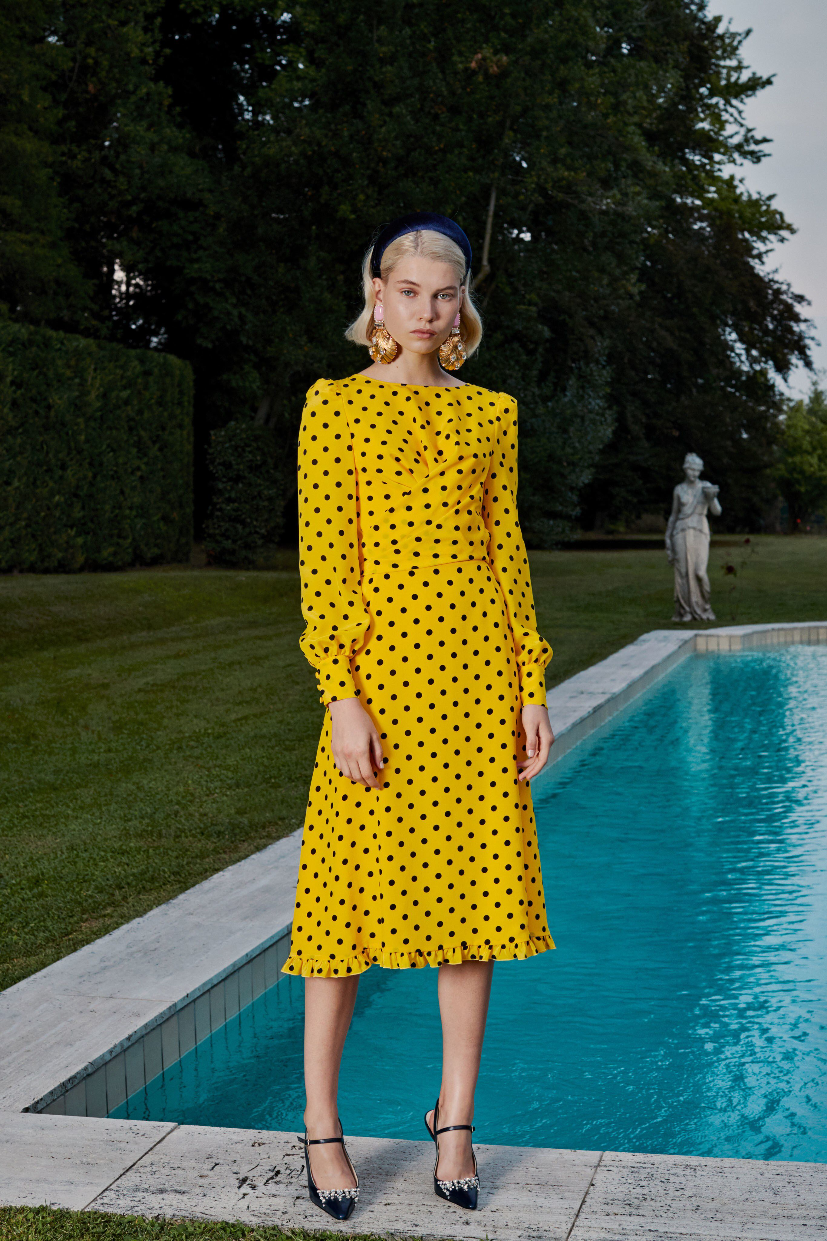 Alessandra Rich Spring 2019 Ready-to-Wear Fashion Show